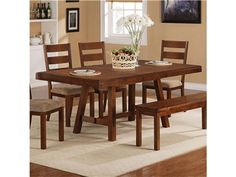 Shop For Coaster Dining Table 102931 And Other Room Tables At Kanes