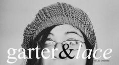 garter & lace beret #knitting pattern (free) from goodknits