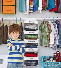 5 Simple Rules to Reduce Child Laundry: highlight = weekly clothing allowance (put other clothing away, out of reach if possible)