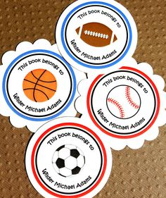 Book hungry hands a guest post by pat mora authorpoet pat mora personalized printable sports bookplate labels make a great gift for a new baby along with some fandeluxe Choice Image