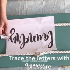 DIY house decor - a beautiful wooden sign! #diy #homedecor #wood #how-to