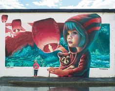 Murals Street Art in Stockholm by Yash #artpeople