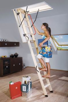1000 Images About Installing Attic Ladder On Pinterest