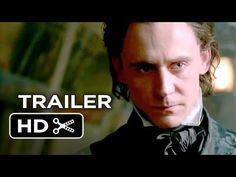 Official Crimson Peak trailer!  I don't like scary movies but I'll get over my fear to watch Tom Hiddleston!