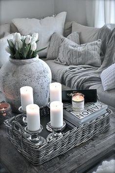 Velas en el salón #Velas #Candles