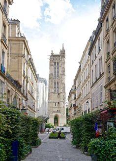 rue nicolas flamel paris france
