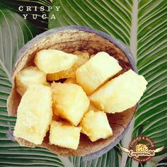 Crispy fried yuca cassava is on our menu as snack. Delicious with garlic mayonnaise. Like yuca con mojo. #crispyfried #yucacassava #yucaconmojo