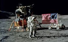 Apollo 17 CDR Cernan on the Moon in 1972 at Taurus Littrow