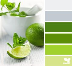 fresh greens Color Palette by Design Seeds Design Seeds, Colour Pallette, Colour Schemes, Color Combos, Color Studies, Fresh Green, Fresh Lime, World Of Color, Color Swatches