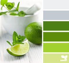 color palettes, design seeds, color schemes, kitchen colors, color pallettes, green kitchen, kitchen colours, lime, fresh green