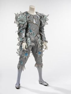 Pierrot costume, 1980 designed by Natasha Korniloff