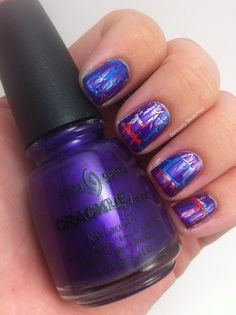 Seriously Swatched: China Glaze Fault Line