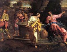 Annibale Carracci, Cristo e la Samaritana, 1593-1594 ca., Pinacoteca di Brera, Milano