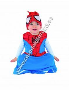 Disfraz Spiderman Bebé http://casadeldisfraz.com