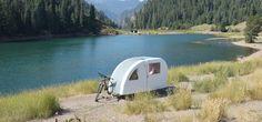 Wer grünen Urlaub will, für den ist der außergewöhnliche Wohnwagen Wide Path Camper fürs Fahrrad genau das Richtige –lies bei uns, warum…