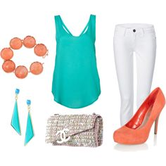 """Bright colors"" by larisak811 on Polyvore"