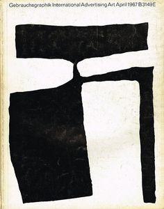 Gebrauchsgraphik/Novum Design magazine, April 1967