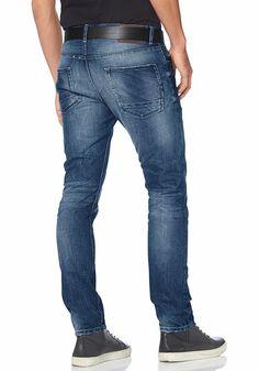 Materialzusammensetzung , Obermaterial: 100% Baumwolle, |Material , Baumwolle, |Materialart , Denim/Jeans, |Stil , modisch, |Applikationen , Label, |Taschen , Coinpocket, Eingrifftaschen, Gesäßtaschen, |Verschluss , Knopfleiste, | ...