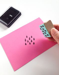 Tips for how to ink a stamp