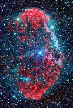 Crescent #Nebula