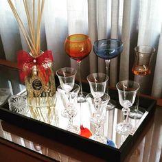 O luxo do aromatizador Romã dando o toque especial na sala de jantar!