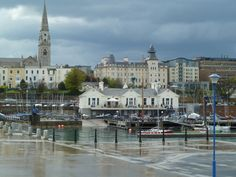 Dun Laoghaire harbour Loved it here. Husbands distant cousins live here.SD Source by secretlyw Places To See, Places Ive Been, Travel Around The World, Around The Worlds, Ireland Homes, Ireland Travel, Dublin Ireland, Emerald Isle, Once In A Lifetime