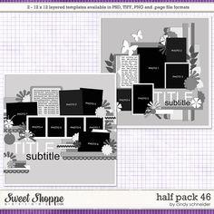 Cindy's Layered Templates - Half Pack 46 by Cindy Schneider