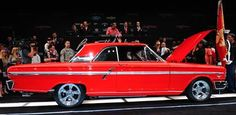 1964 Ford Fairlane - my first car.   No, it wasn't this nice.