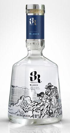 3R Tequila | #packaging #bottledesign #tequila
