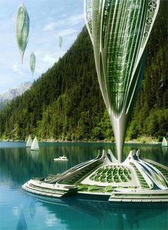 Arcology - ecological architecture ideas for a sustainable future.