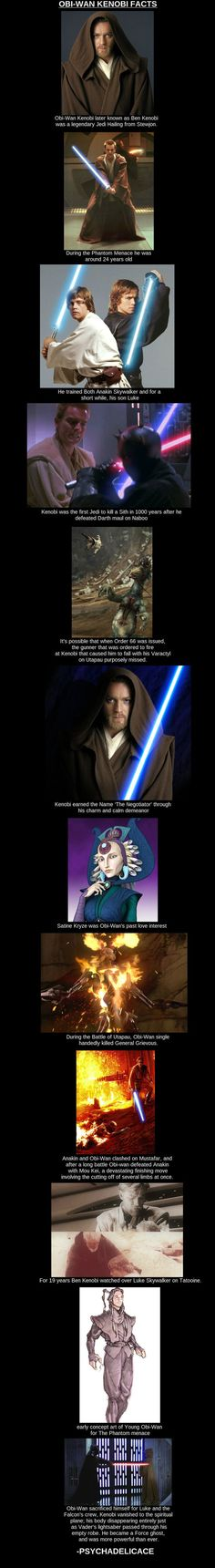 Obi-Wan Kenobi // funny pictures - funny photos - funny images - funny pics - funny quotes - #lol #humor #funnypictures: