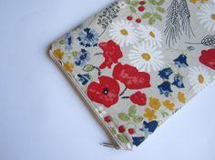 Linen poppy MacBook Air 13 sleeve MacBook Air 13 Case by CasesLab, $26.00