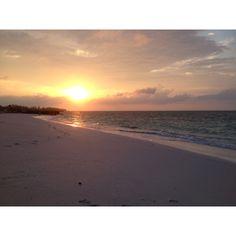 Sunrise on da beach- Grand Lucayan Resort- Freeport, Bahamas