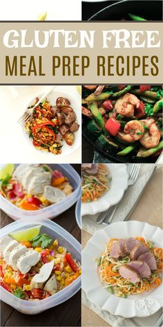 I'm a huge fan of meal prepping. It's a massive time and money saver and I find it just helps me to make healthier meal choices. If you have a gluten sensitivity then you will love these gluten free meal prep recipes!!