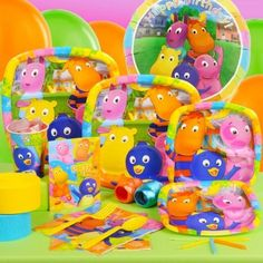 Backyardigans Standard Party Pack For 8 - http://www.247babygifts.net/backyardigans-standard-party-pack-for-8/