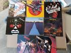 Lot of 8 Judas Priest Vinyl record Albums  VG/NM Condition New / Once Played
