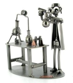 Scientist Nuts and Bolts Figure