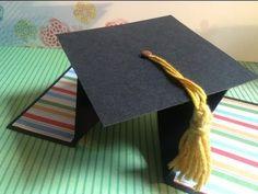 TUTORIAL Tarjeta Graduación Diamante/Diamond Fold Card Graduation
