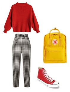 """Untitled #76"" by pukites5555 on Polyvore featuring Petar Petrov, Converse and Fjällräven"