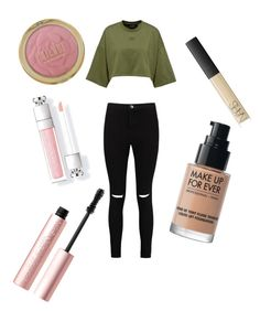 """Go out with my friends for breakfast"" by heyyitsvessie on Polyvore featuring Boohoo, Too Faced Cosmetics, MAKE UP FOR EVER and NARS Cosmetics"