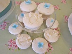 Butterfly & Flower Cupcakes
