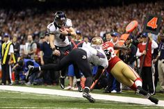 Images from Super Bowl XLVII(87 images)  Updated Feb 4, 2013 3:18 AM ET  It's a fake! 49ers linebacker Patrick Willis (52) tackles Ravens kicker Justin Tucker (9) short of the first down after Tucker took off with the ball on a fake field goal.    Mark J. Rebilas - USA TODAY Sports