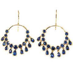 Jade Jagger Kyanite Gypsy Earrings