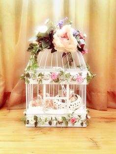 Lovely bird cage rose arbor Seserahan #hantaran Contact :+62 812 32008600, +62 811 9200393