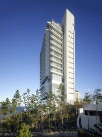 Hochhaus von Richard Meier am Strand / Dekonstruktivismus in Südkorea - Architektur und Architekten - News / Meldungen / Nachrichten - BauNetz.de