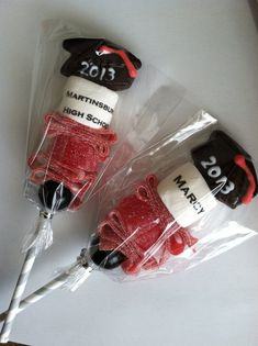 Personalized Candy Cabob college high school party favor graduation hat party senior class of 2013 unique edible lollipop marshmallow by ImpressiveInvitations Graduation Desserts, Graduation Party Centerpieces, Graduation Party Planning, Graduation Celebration, Graduation Decorations, Graduation Party Decor, Graduation 2016, Graduation Party Favors, High School Parties
