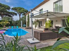 Renovated villa in walking distance from the beach #Saint-Tropez  This wonderful property is situated in walking distance from the beach, at the entrance of Saint Tropez. It was recently renovated with quality materials with attention to detail. It offers high quality fittings, whether outside with the large terrace and its pool, or the lounge area, or inside http://aiximmo.ch/en/listing/renovated-villa-in-walking-distance-from-the-beach/  #frenchriviera #cotedazur #mall