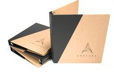 Love these kraft binders from Guided Products! Sales presentations, portfolios, sample books - so many ideas and uses! Presentation Binders, Sales Presentation, American Made, Recycling, Identity, Blog, Branding, Beautiful, Ideas