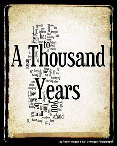 A Thousand Years  Christina Perri