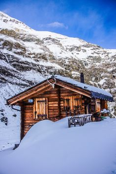 Cabin In The Woods, Zermatt, Swiss Alps, Infj, Winter Time, Landscape Photos, Switzerland, Snowflakes, Skiing